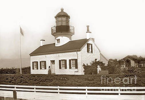 California Views Mr Pat Hathaway Archives - Point Pinos Lighthouse and Mrs. Emily A. Fish keeper Circa 1897