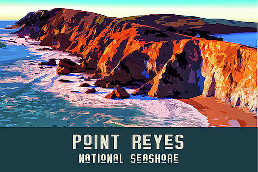 Point Reyes National Seashore 2 by Chuck Mountain