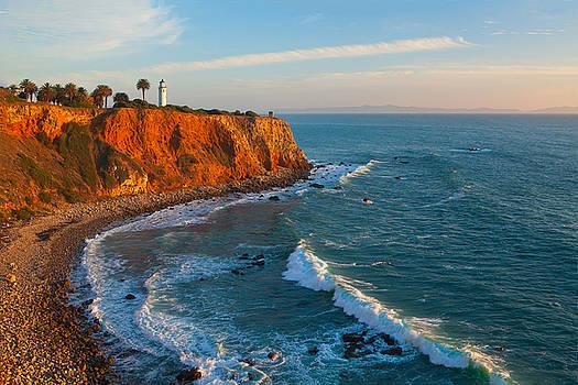 Point Vicente Lighthouse Palos Verdes California by Ram Vasudev
