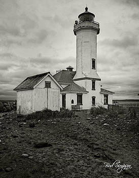 Point Wilson Light by Bud Simpson