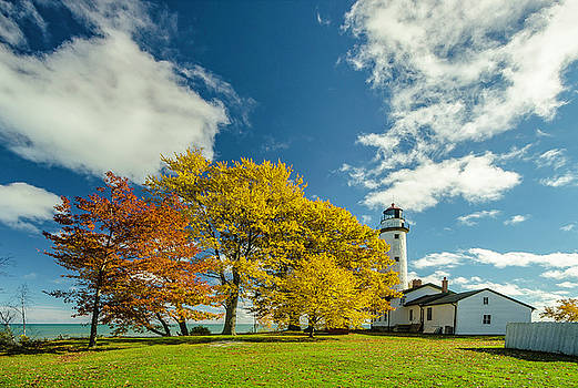 Pointe Aux Barques 3 by Tom Clark