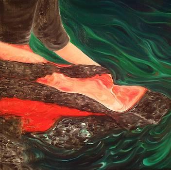 Pointsettia by Bridget Bruneau