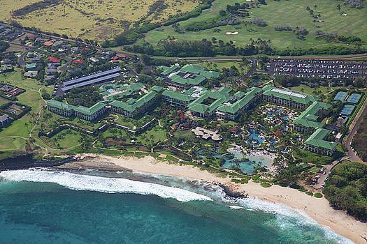 Steven Lapkin - Poipu Beach Aerial