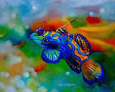 Poisson Bleu by Pamela Roehm