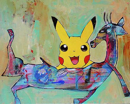 Pokemon Shows Up by Jenn Ashton