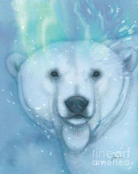 Arctic Bear, Polar B-r-r-r by Tracy Herrmann