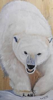 Polar Bear by Debbie LaFrance
