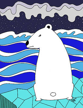 Polar Bear Stare by Jayme Kinsey