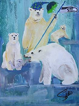 Polar Party by Susan Snow Voidets