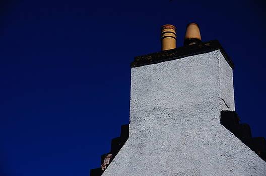Polarised Chimney Stack by Nik Watt