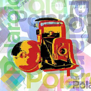 Polaroid camera Pop Art by Jean luc Comperat