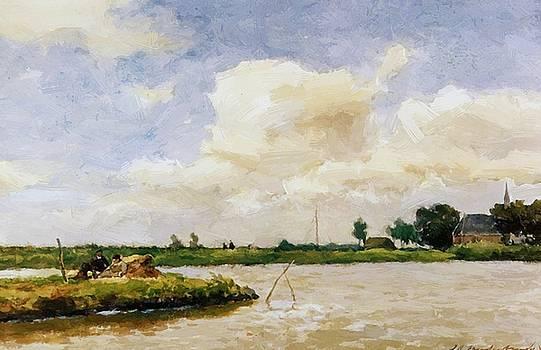 Weissenbruch Johan Hendrik - Polder At Noorden