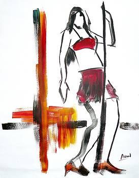 Pole Dancer by Abin Raj