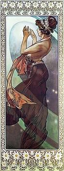 Alphonse Mucha - Pole Star