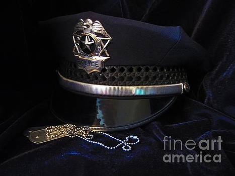 Police and Dog Tags by Laurianna Taylor