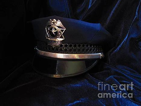 Police Hat by Laurianna Taylor