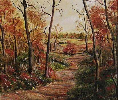 Polish Golden Autumn no 2 by Anna Witkowska