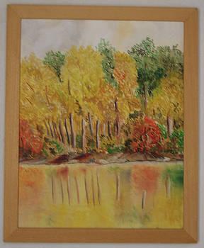 Polish golden autumn no 3 by Anna Witkowska