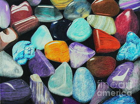 Polished Pebbles by Jackie Kirby