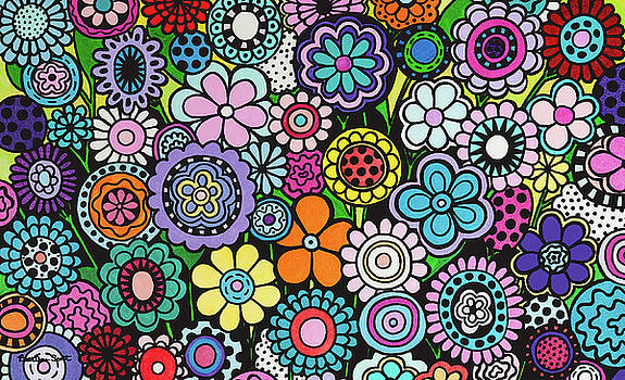 Polka Dot Bouquet by Beth Ann Scott