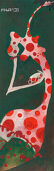 Polka dots by Maya Manolova