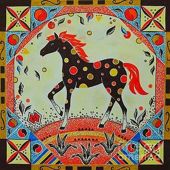 Polkadot Horse by Heather McFarlane-Watson
