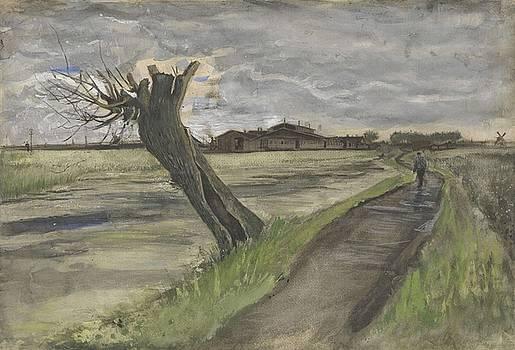 Pollard Willow The Hague July 1882 Vincent van Gogh 1853  1890 by Artistic Panda