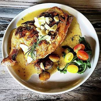 Pollo Asador ( 1/2 Roasted Chicken With by Arya Swadharma