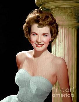 John Springfield - Polly Bergen, Vintage Movie Star
