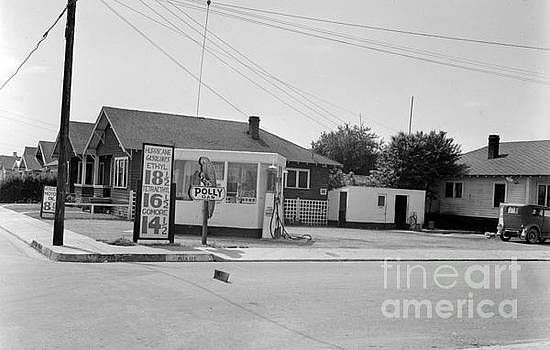 California Views Mr Pat Hathaway Archives - Polly Gas Station,  Circa 1935