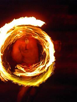 Elizabeth Hoskinson - Polynesian Fire Dancer I