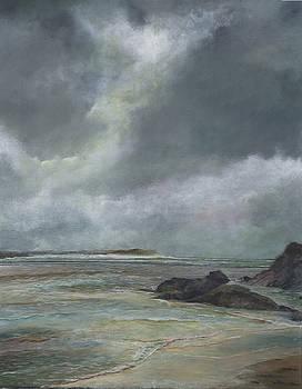 Polzeath Winter by John Tregembo