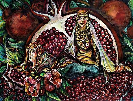 Pomegranate by Anna Duyunova