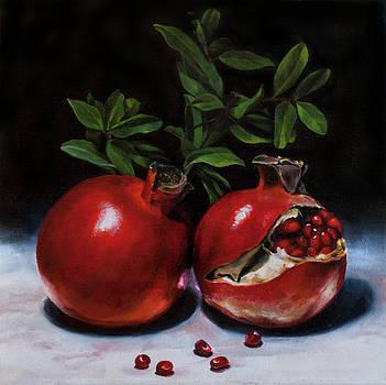 Pomegranates Seeds by Anthony Enyedy