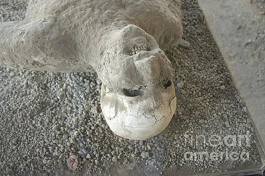 Pompei man by Patricia Hofmeester