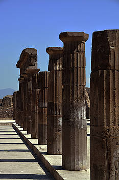 Pompeii Columns by Tim Stringer