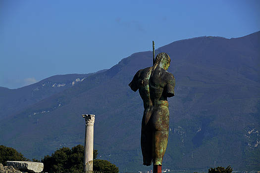 Pompeii Guardian by Tim Stringer