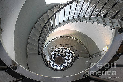 Ponce De Leon Inlet Lighthouse Staircase No. 2 by Todd Blanchard