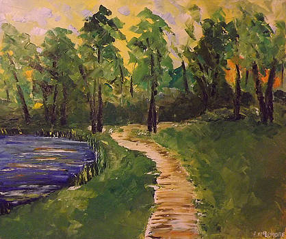 Pond and Trail by Emily McLemore