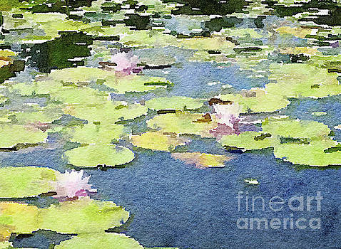 Pond of Water Lilies by Rich Governali