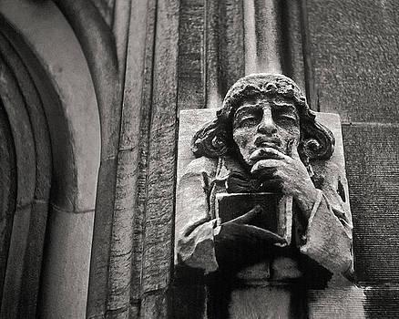 Pondering Gargoyle v.1 University of Chicago 1976 by Joseph Duba