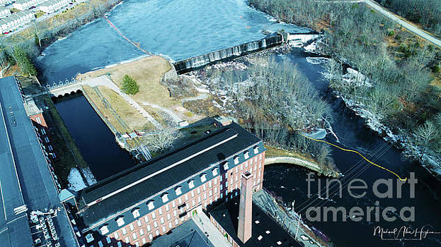 Ponemah Mill and Dam by Michael Hughes