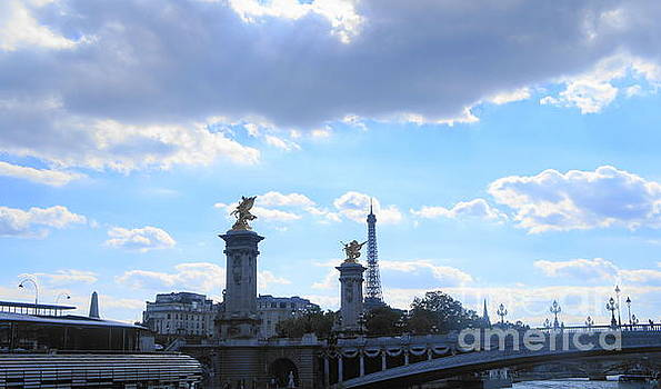 Pont Alexandre III  Bridge by Therese Alcorn
