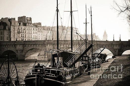 Pont Neuf and the Ile de la Cite in Paris, France, Europe by Bernard Jaubert
