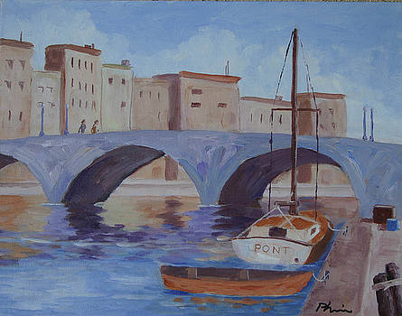 Pont Nuef by Bob Phillips