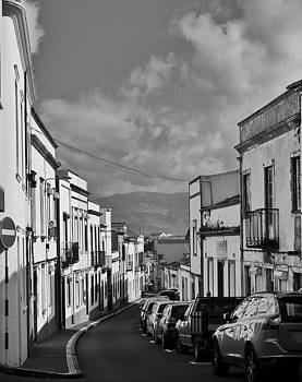 Ponta Delgada Street Scene by Steffani Cameron