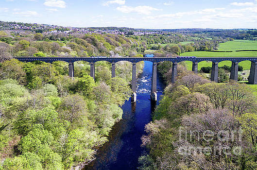 Pontcysyllte Aqueduct by Steev Stamford