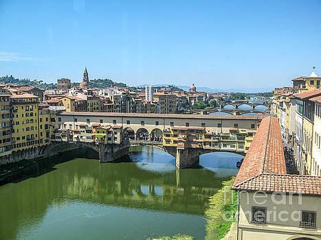 Ponte Vecchio Florence Italy by Barbara Dudzinska