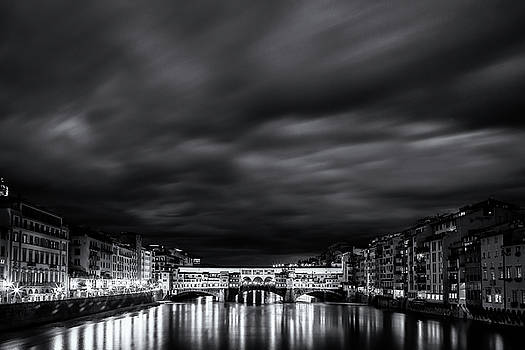 Ponte Vecchio Reflections by Andrew Soundarajan
