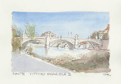Thomas Rankin - Ponte Vittorio Emanuele II